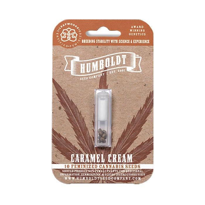 Humboldt Seed Company's Caramel Cream Seed Strain