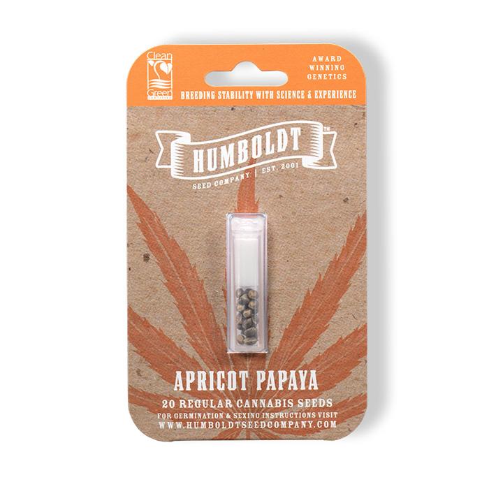 Humboldt Seed Company Apricot Papaya Seed Pack