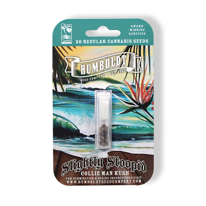 Humboldt Seed Company Slightly Stoopid Collie Man Kush Seed Pack
