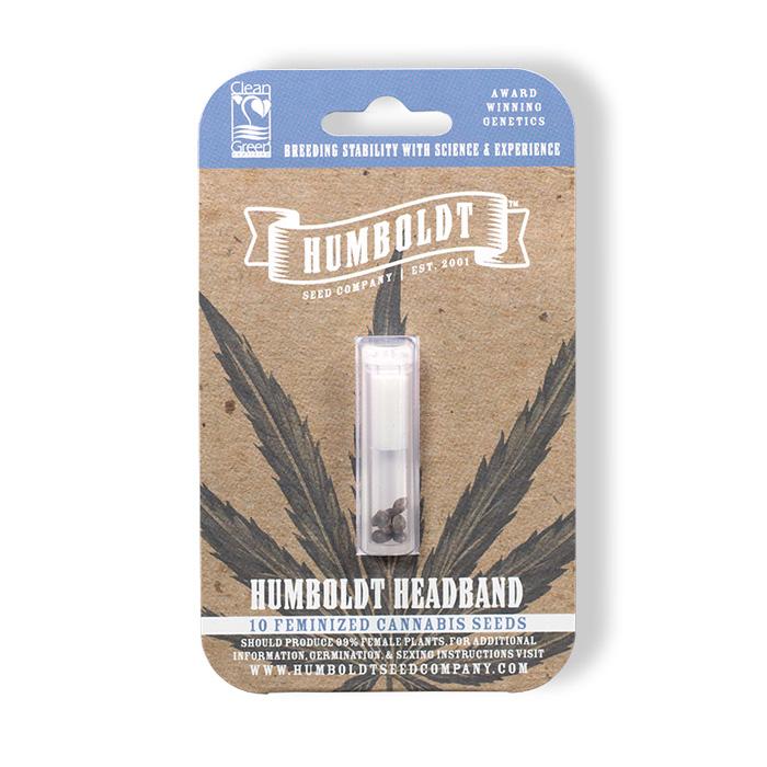Humboldt Seed Company Feminized Humboldt Headband Seed Pack
