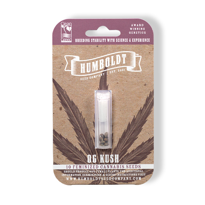 Humboldt Seed Company OG Kush Pack
