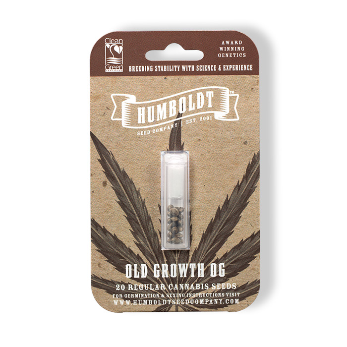 Humboldt Seed Company Old Growth OG Seed Pack