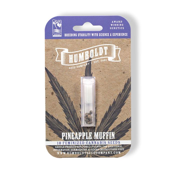 Humboldt Seed Pineapple Muffin Kush Pack