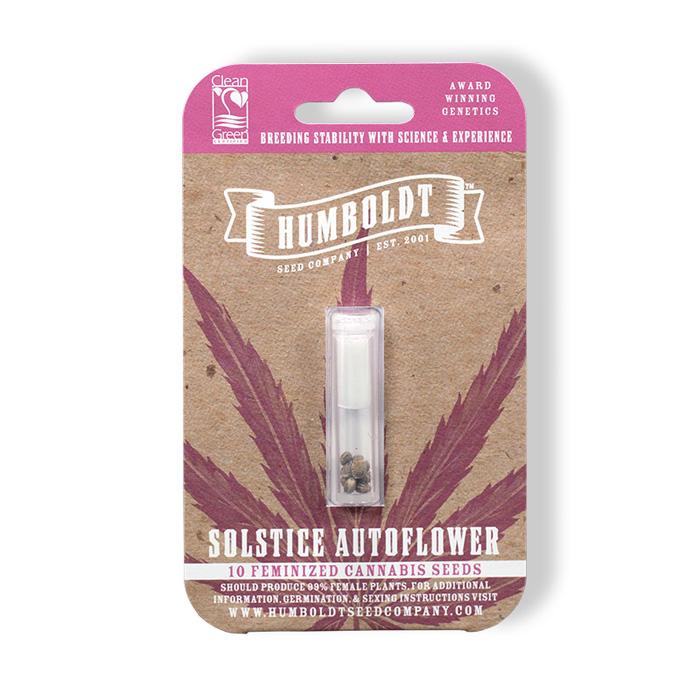 Humboldt Seed Company Solstice Autoflower Seed Pack
