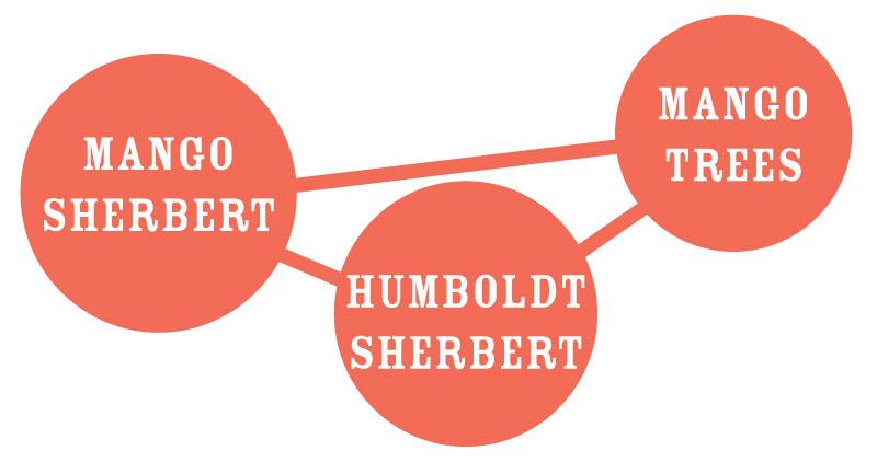 Mango Sherbert Strain Graph