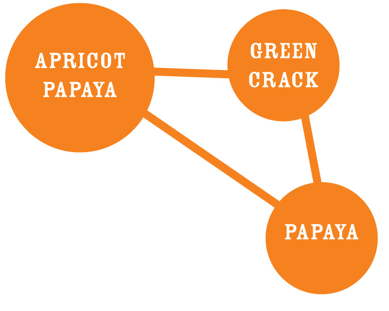 Apricot Papaya Strain Chart