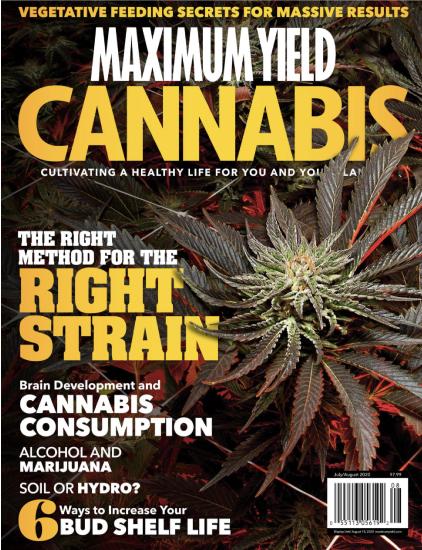 Maximum Yield Cannabis Mag