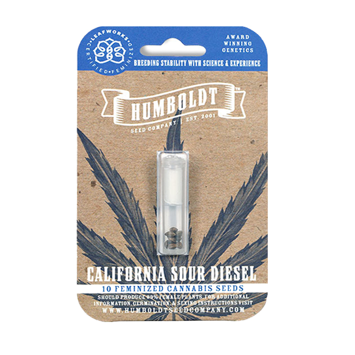 Humboldt Seed Company California Sour Diesel Seed Pack