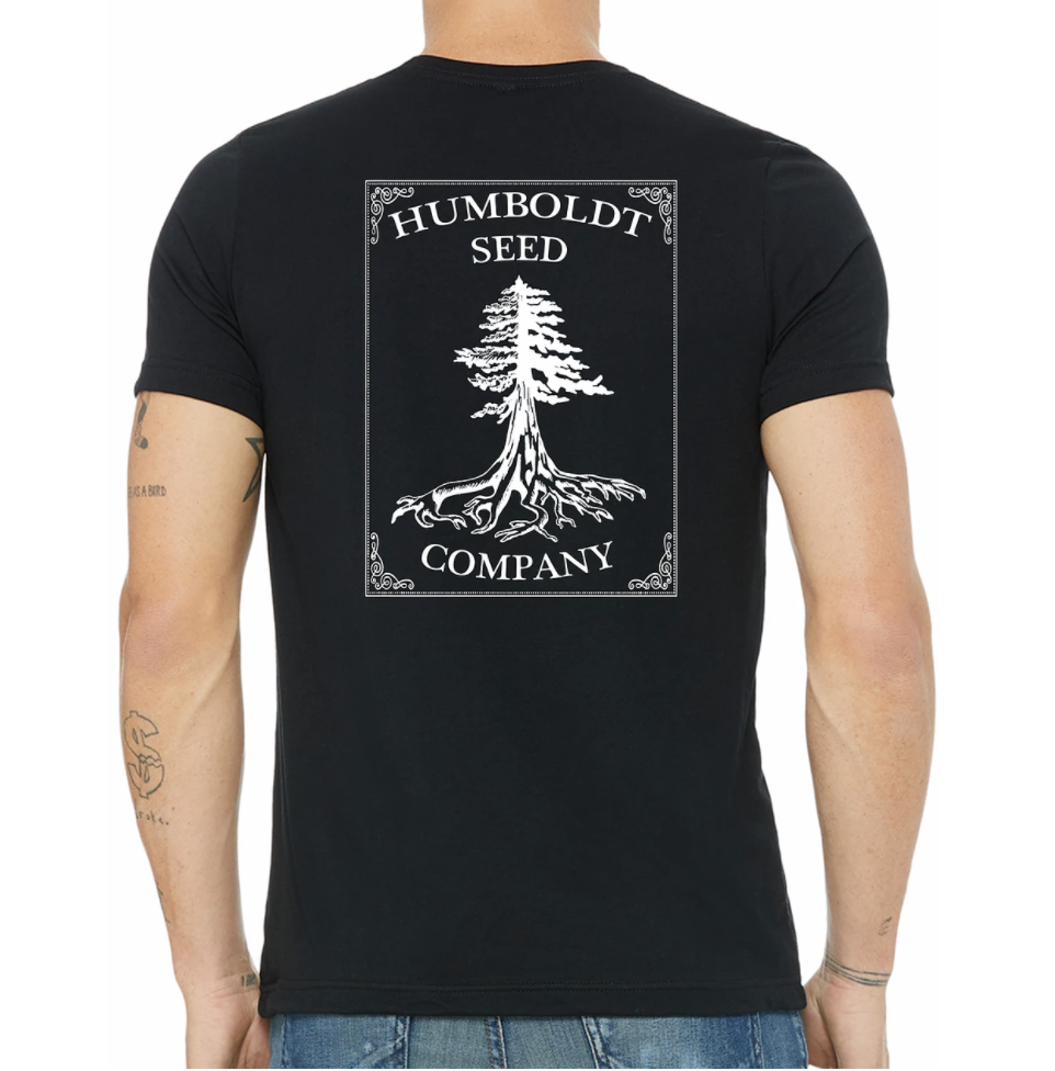 Hemp Humboldt Seed Tree Tee Black