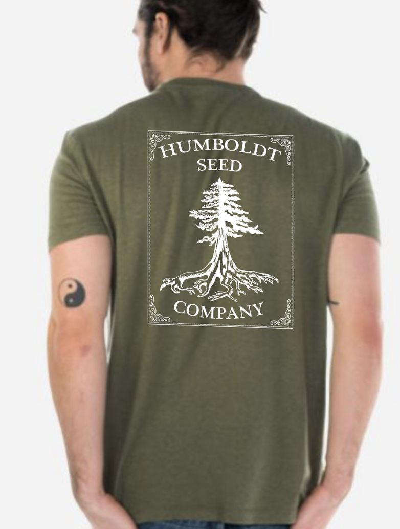 Hemp Humboldt Seed Tree Tee Cypress