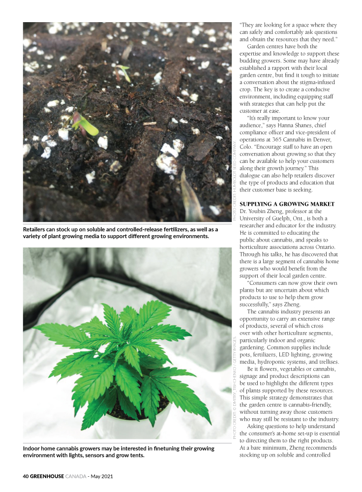 Cultivating a space for cannabis