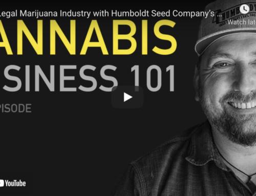 The Legal Marijuana Industry with Humboldt Seed Company's Nathaniel Pennington
